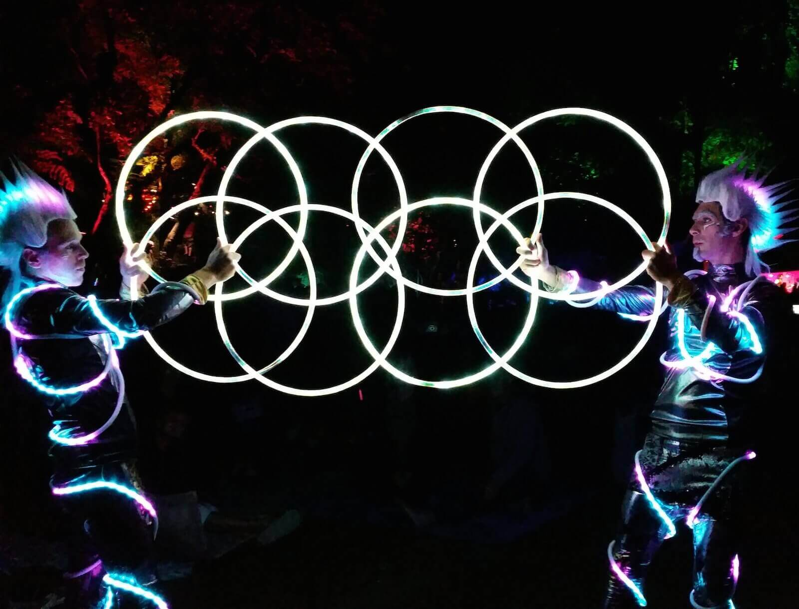 Hoop Hooligans mini-hoops led
