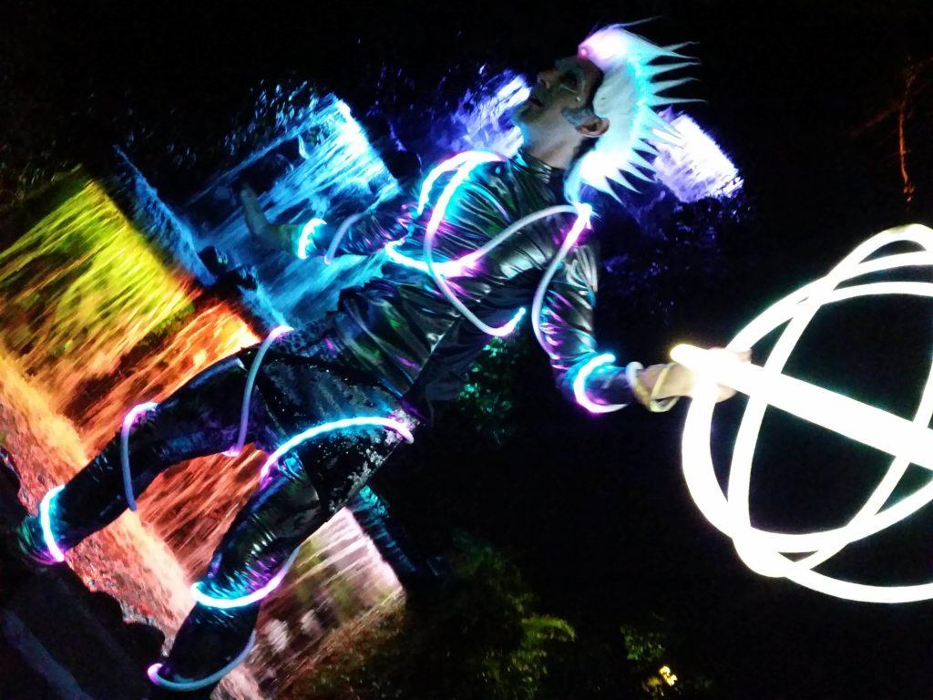 Hoop Hooligans LED suit HooperTrooper