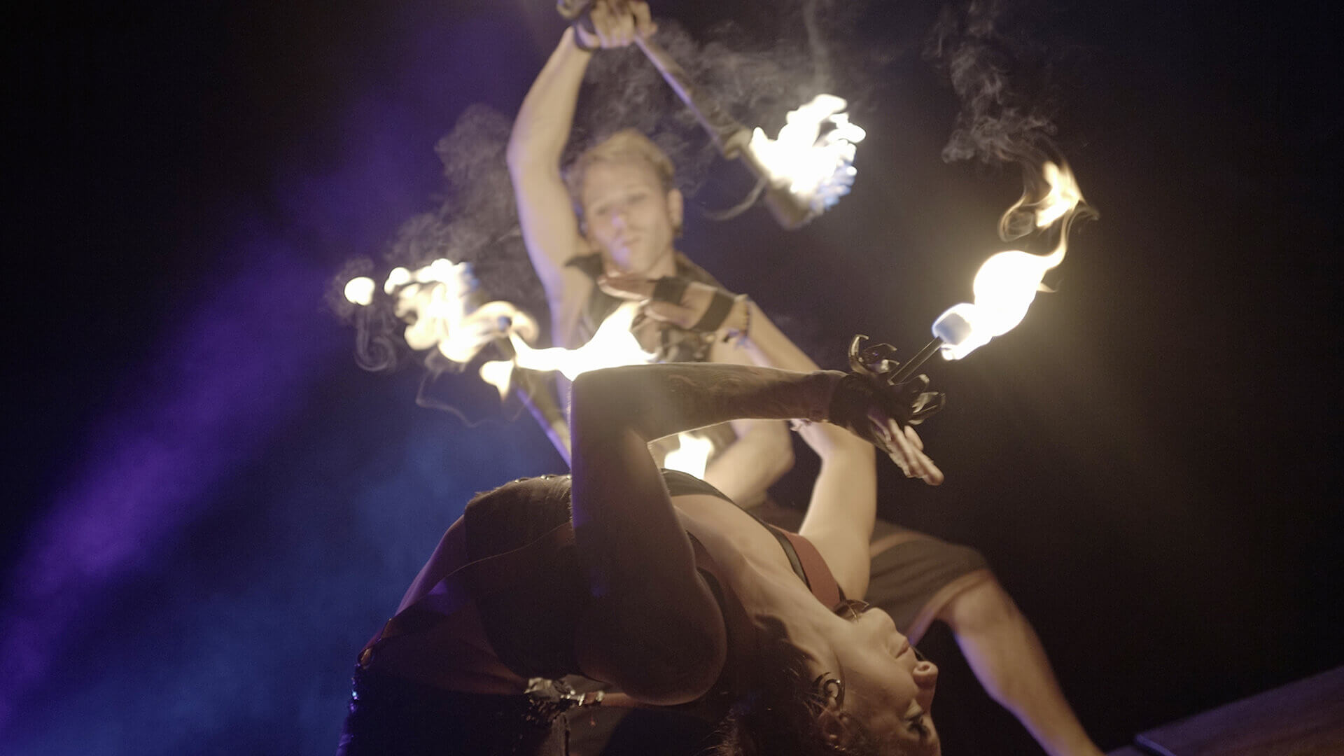 fire dancing contortion tina pheonix rewi bracey