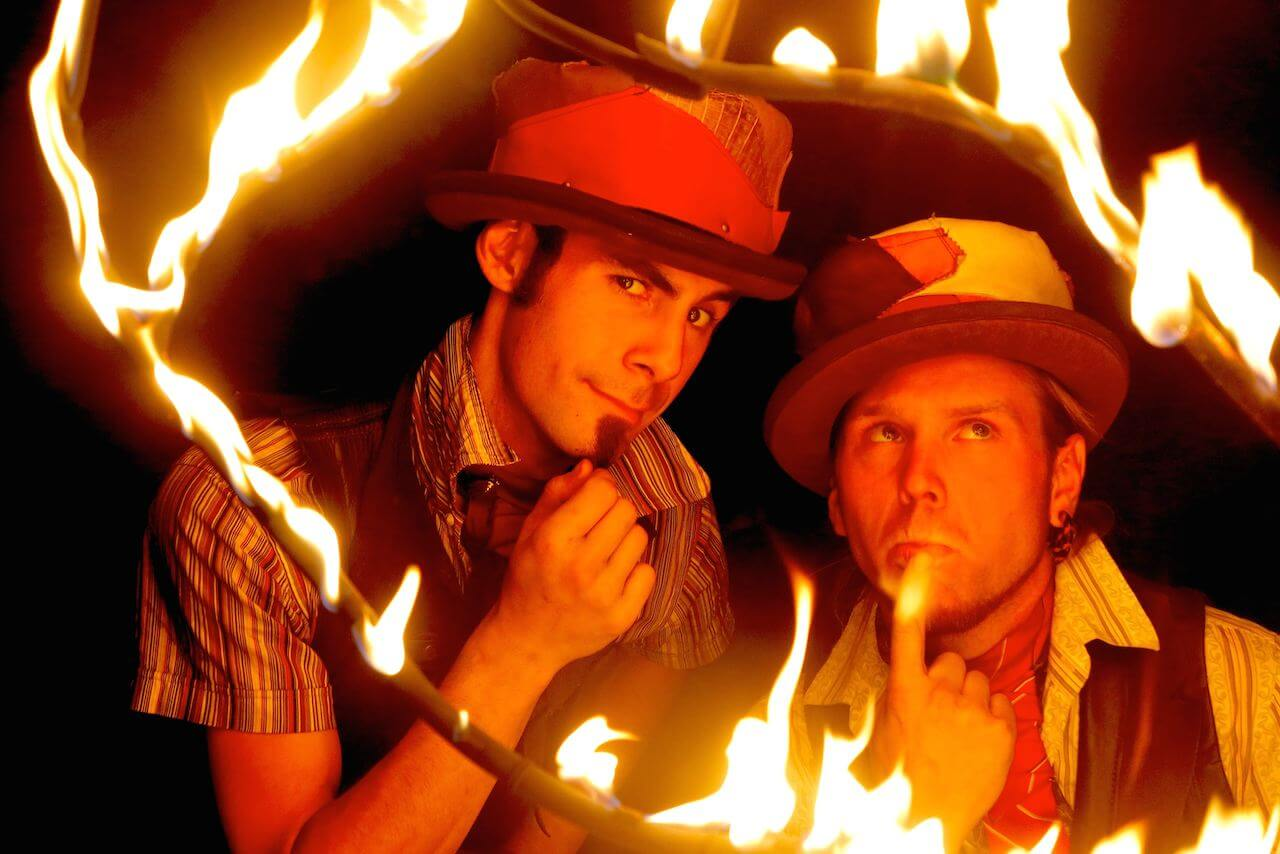 Fire Artists, rewi and jeff
