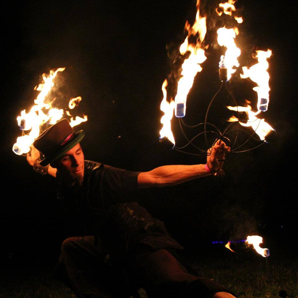amazing fire fans performer and tutorials