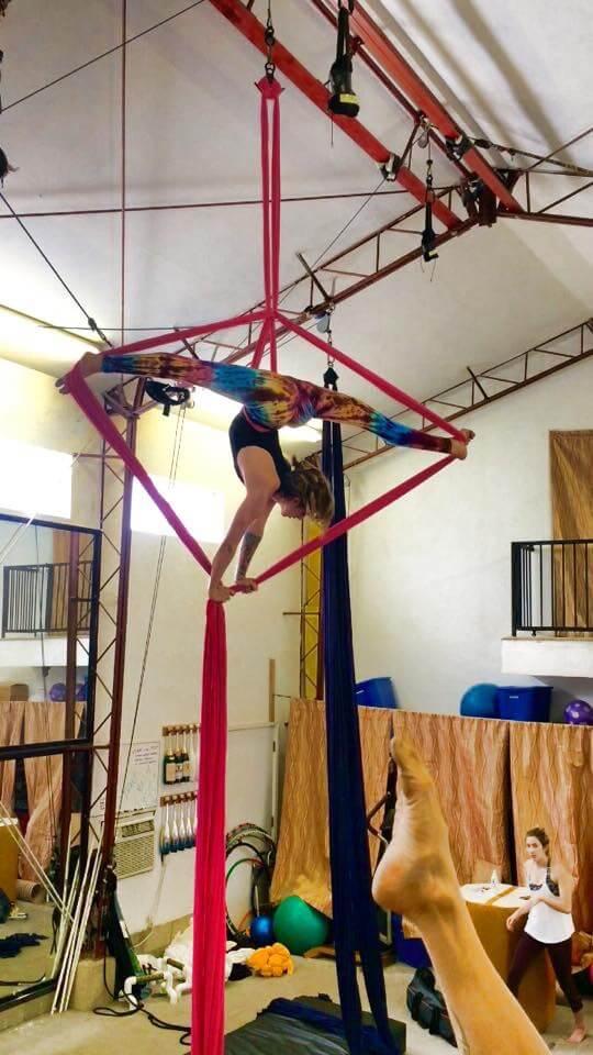 Aerial Silks Workshop with Tina Phoenix