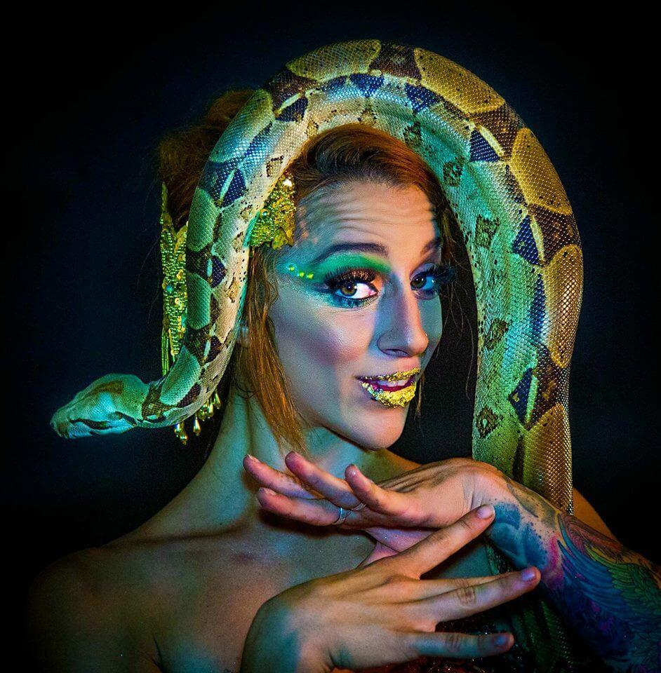 Tina Phoenix Snake Charmer