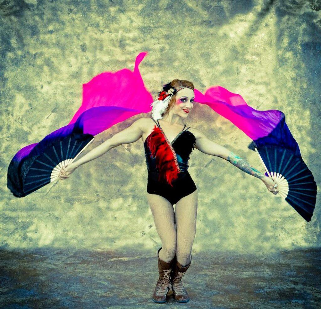 Silk Fan Dancing Tina Phoenix
