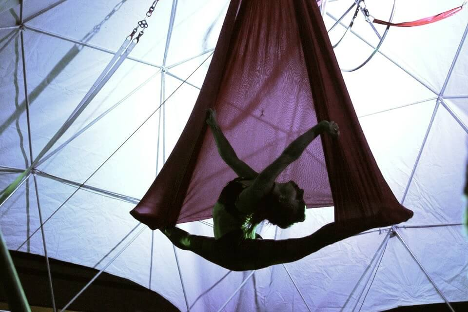 Aerial Hammock Performer Tina Phoneix
