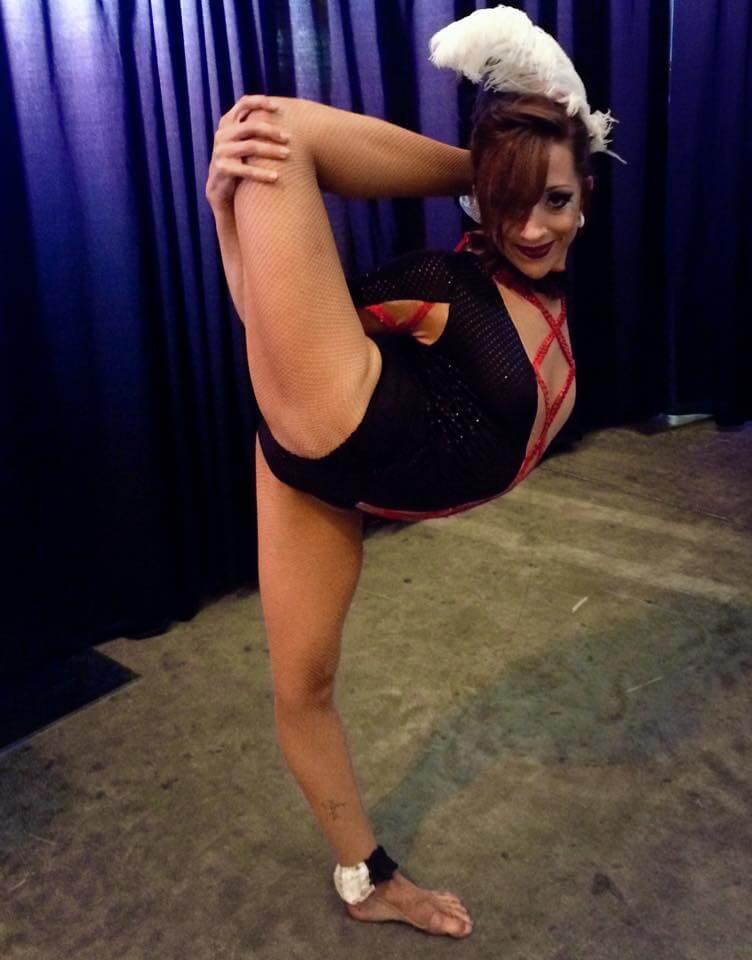 Tina Phoenix Circus Legs Contortion