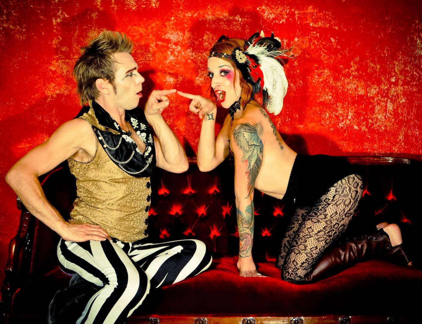 CirqueSanity Directors, Tina Phoenix & Rewi Bracey